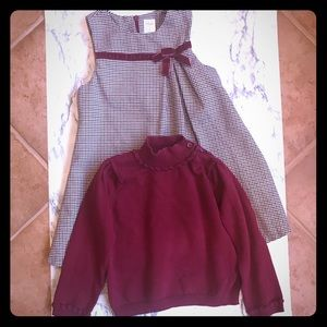 Gymboree Dress and Sweater Bundle